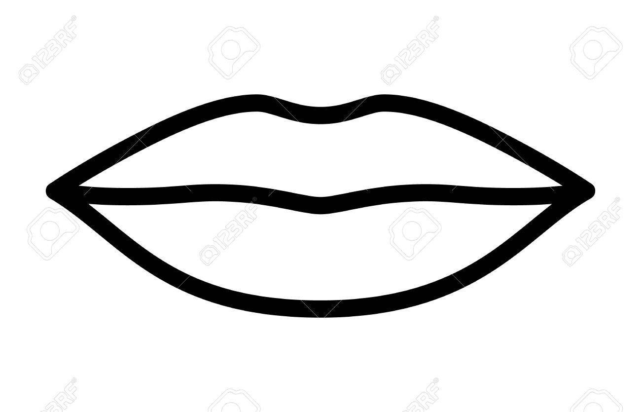 Kissing lips clipart black and white 3 » Clipart Portal.