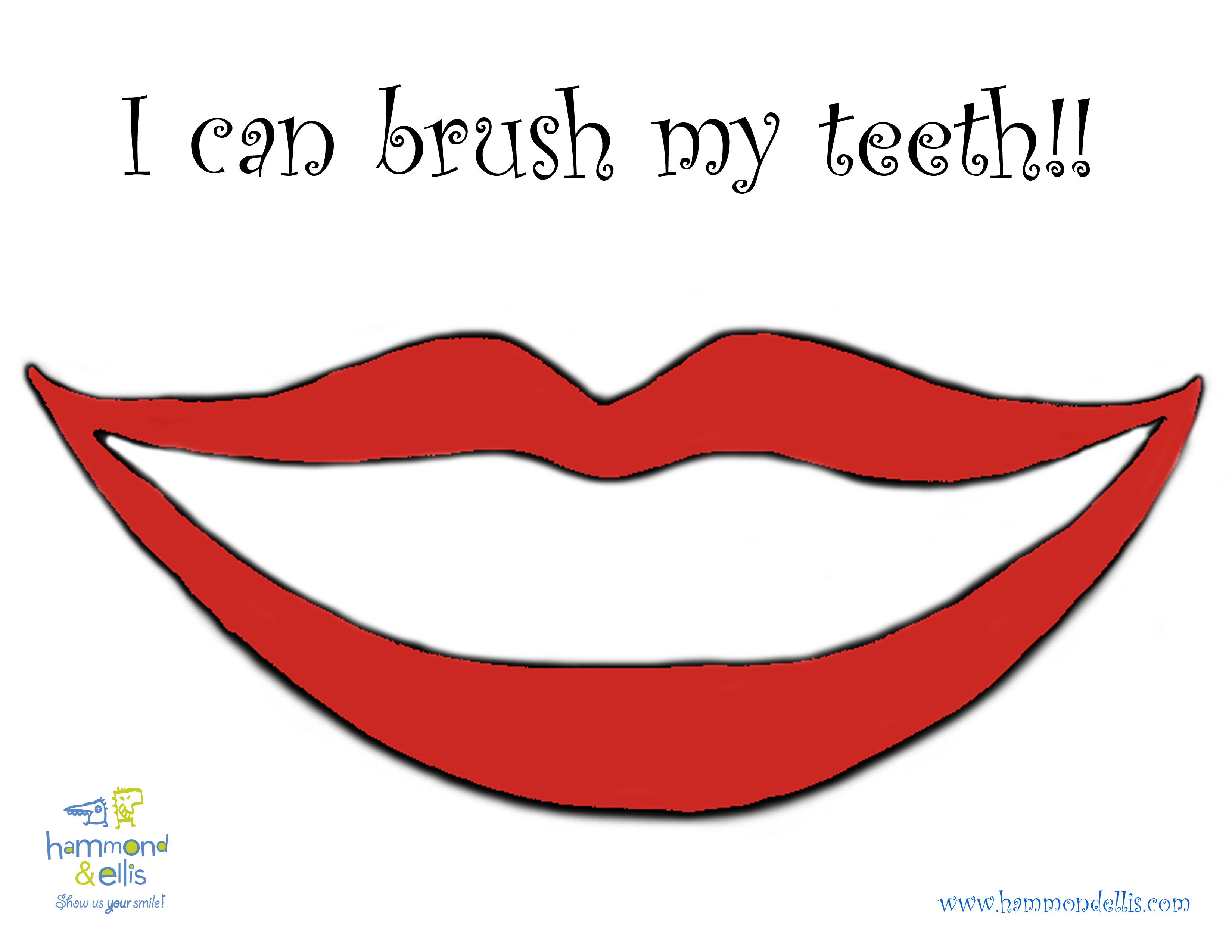 Lip Clipart With No Teeth.