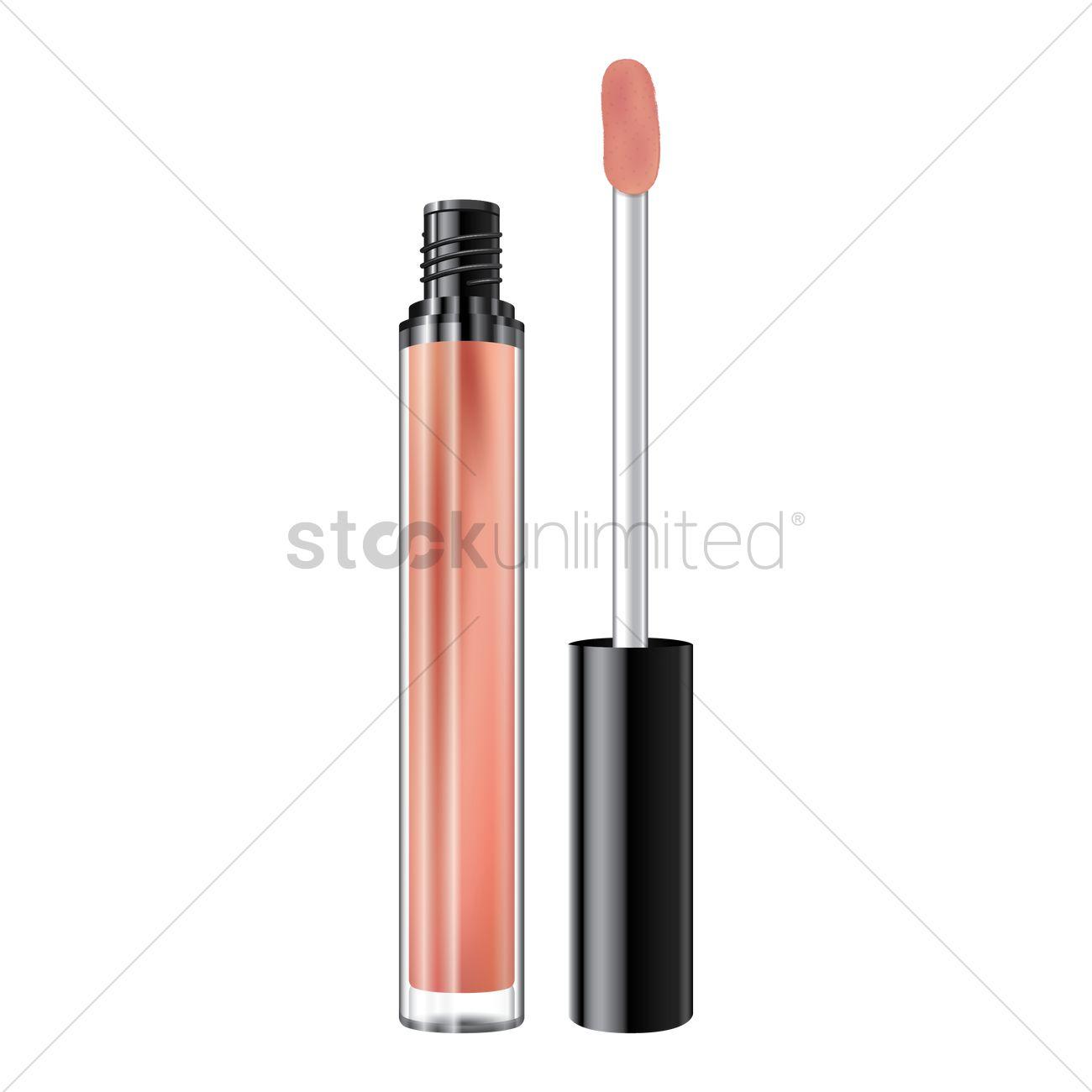 Lip gloss Vector Image.