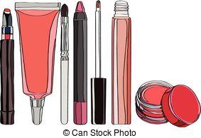 Lip balm Vector Clip Art Illustrations. 144 Lip balm clipart EPS.