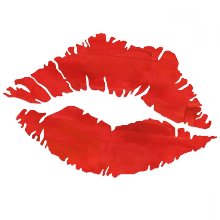 Best With Lips With Lipstick Vector Clip Art Image.