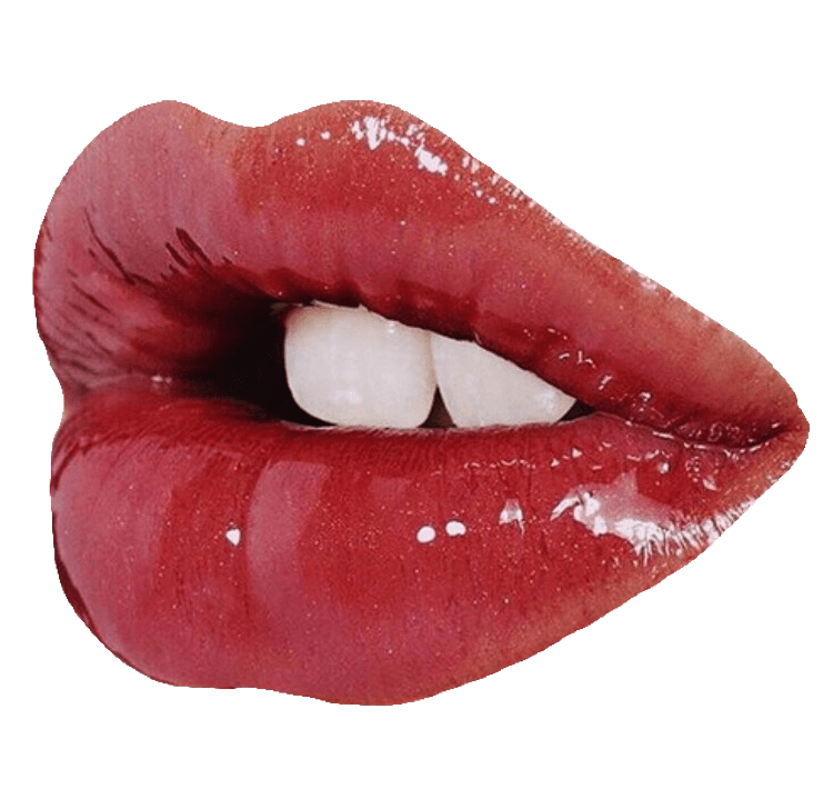 Glossy Lips Transparent PNG Image #206.