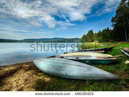 Lake Lipno Stock Photos, Royalty.