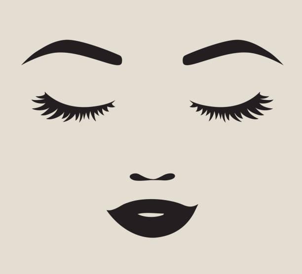 Best Eyelashes Illustrations, Royalty.