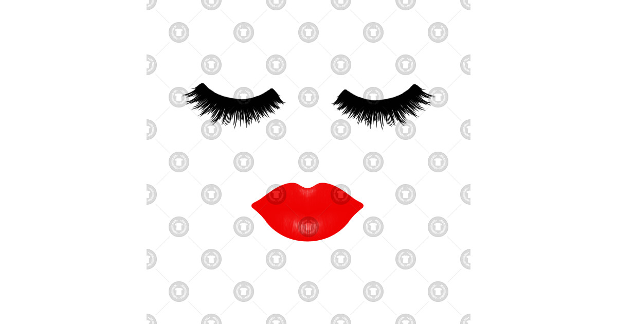 Lips and Lashes by julieerindesigns.