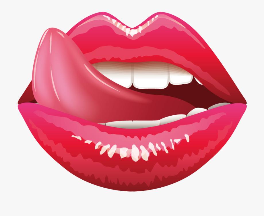 Lip Tongue Mouth Clip Art.