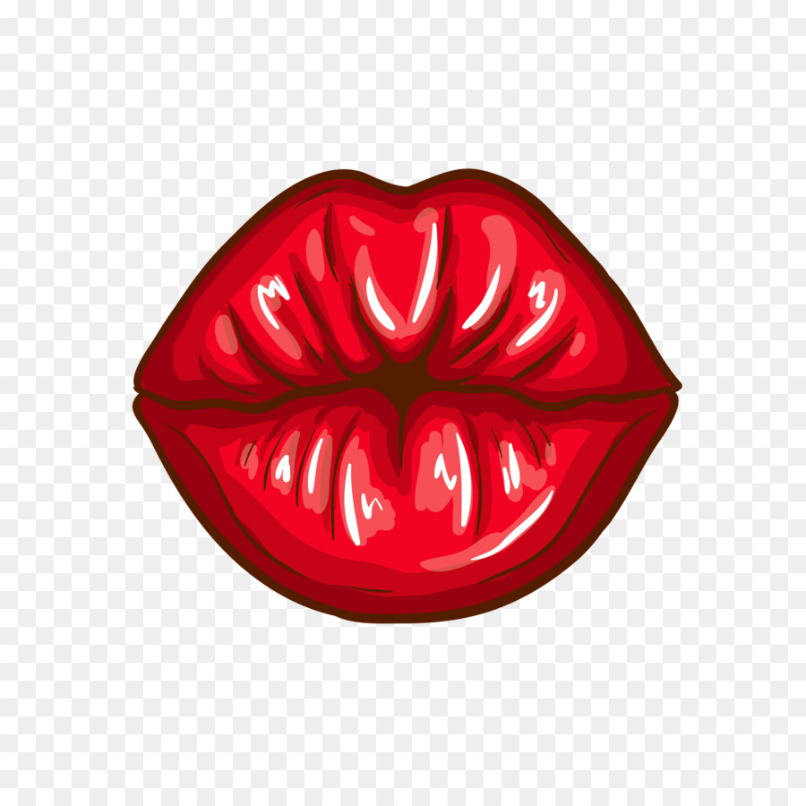Lips Cartoon.