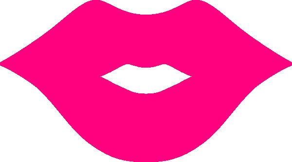 Printable Cartoon Lips Clipart.