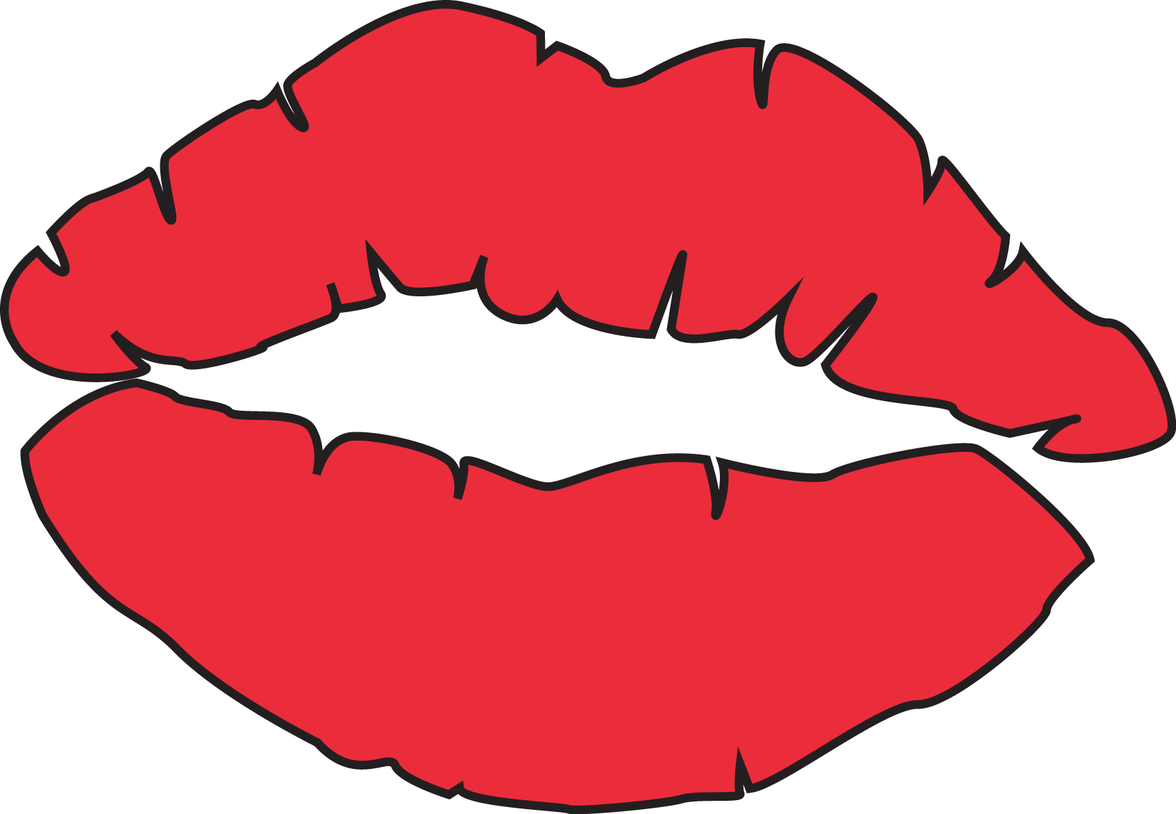 Kiss lips kissing lips clipart free download clip art on.