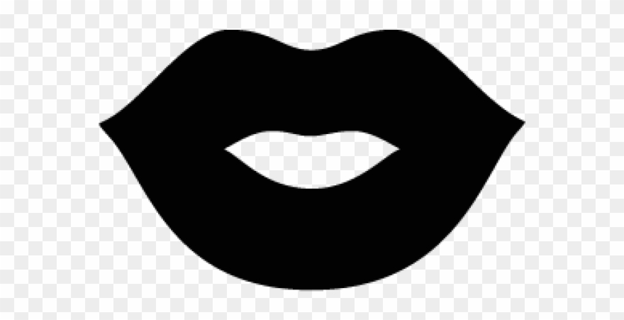 Lips Clipart Silhouette.