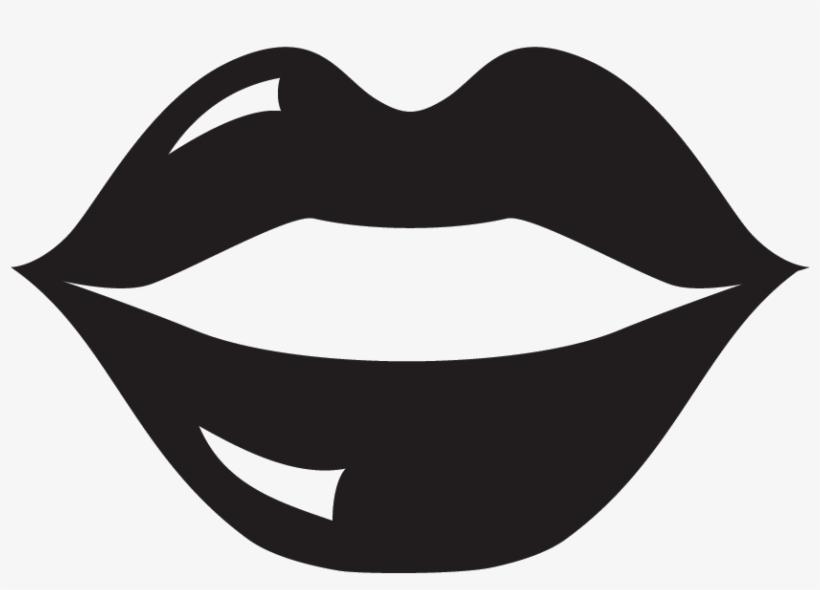 Lips Silhouette.