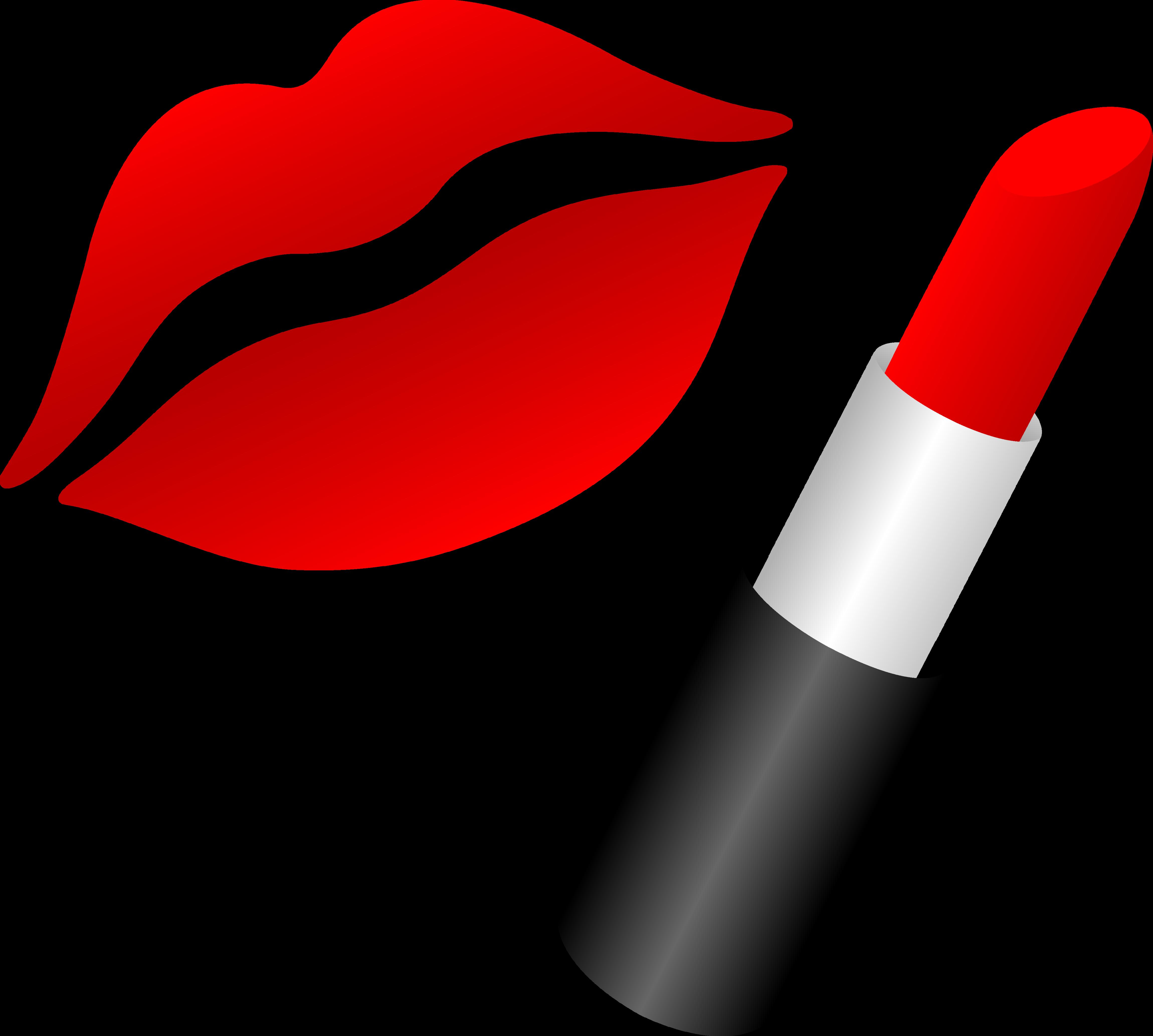 Makeup Free Lipstick Clipart Clip art of Lipstick Clipart #4679.