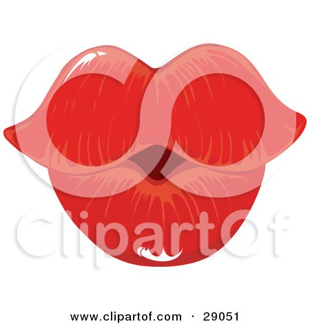 Woman's Lips and Mouth Posters, Art Prints by AtStockIllustration.