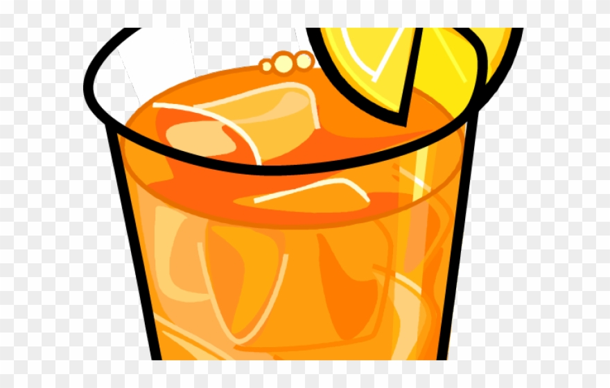 Beverage Clipart Lemon Tea.