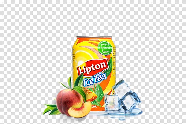 Iced tea Çiğ köfte Juice Lipton, iced tea transparent.