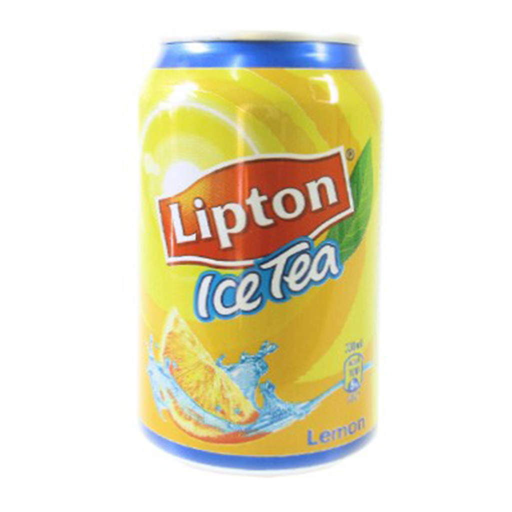 LIPTON ICE TEA LEMON CAN 340ML X1.