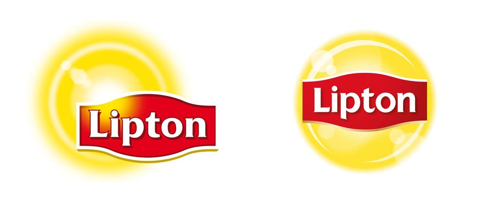 Brand New: New Logo for Lipton.
