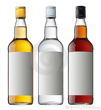 Liquor Bottle Clipart.