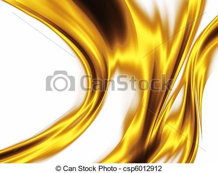 Clip Art of liquid gold.