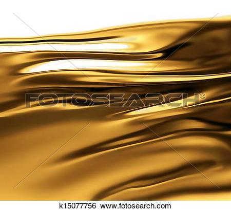 Stock Illustration of liquid gold k15077756.