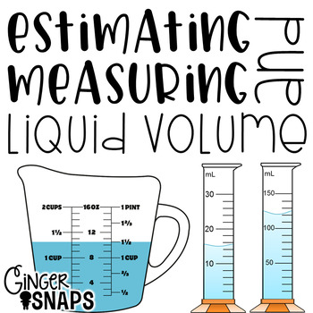 Estimating and Measuring Liquid Volume {A Rotation Activity}.