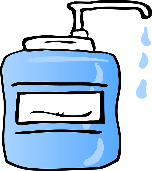 Free vector graphic: Liquid Soap, Dispenser, Drip, Wash.
