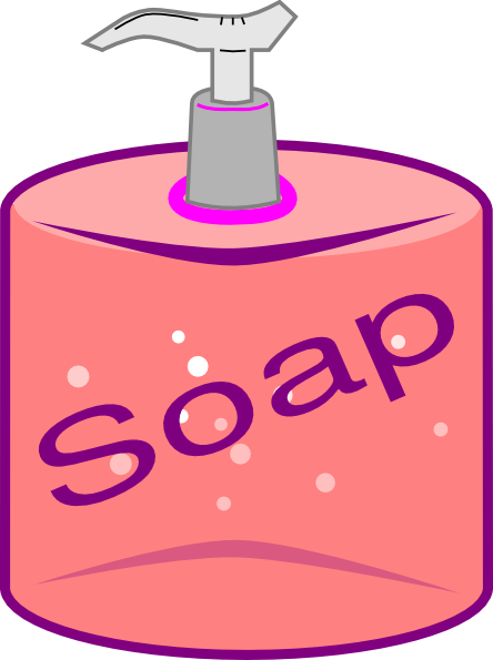 Liquid Soap Clipart.