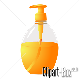 CLIPART LIQUID SOAP.