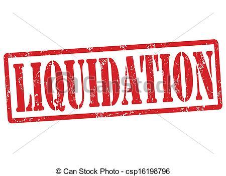 Liquidation Clipart.