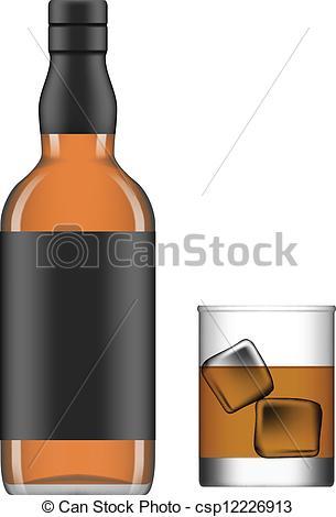 Clipart liquor bottle.