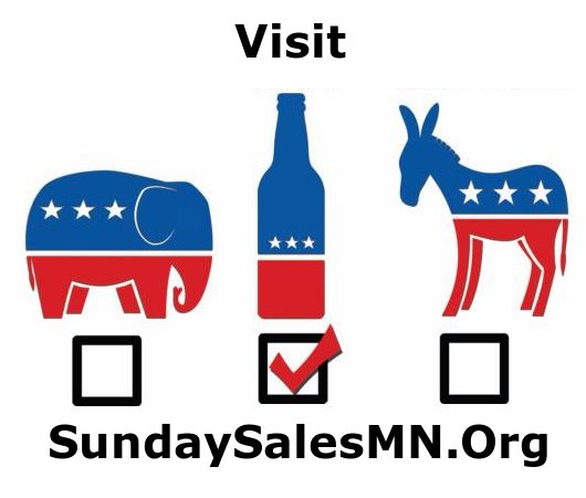 Sunday Liquor Sales Bills Introduced in Minnesota Legislature.