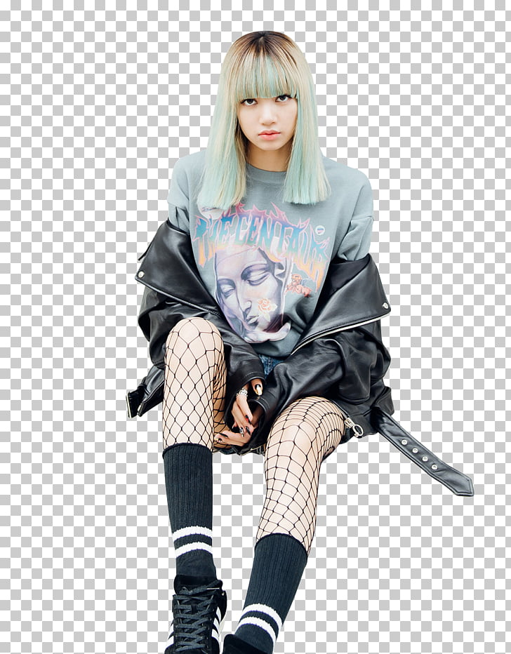 Lisa Blackpink House Square Two STAY, kpop, woman in black.