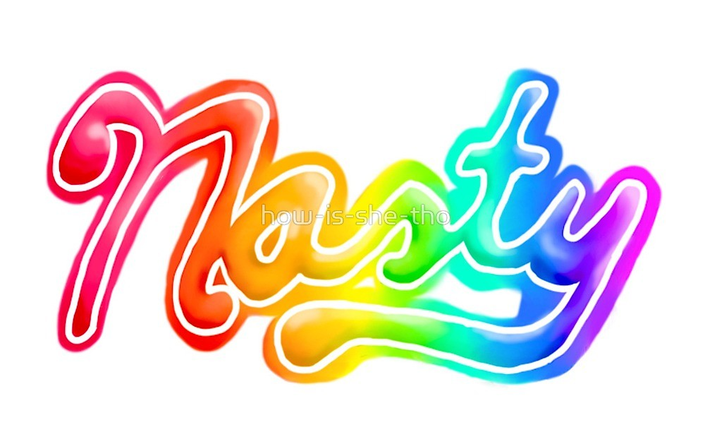 Nasty Rainbow Lisa Frank Style \
