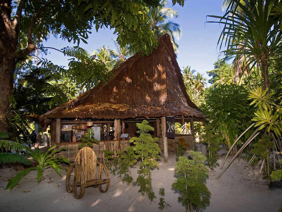 Lissenung Island Resort, Kavieng, PNG, Papua New Guinea.