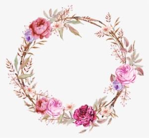 Floral Frame PNG Images.