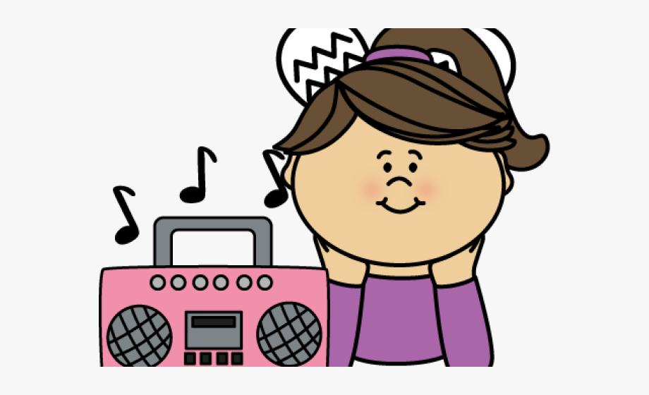 Listen Music Cliparts.