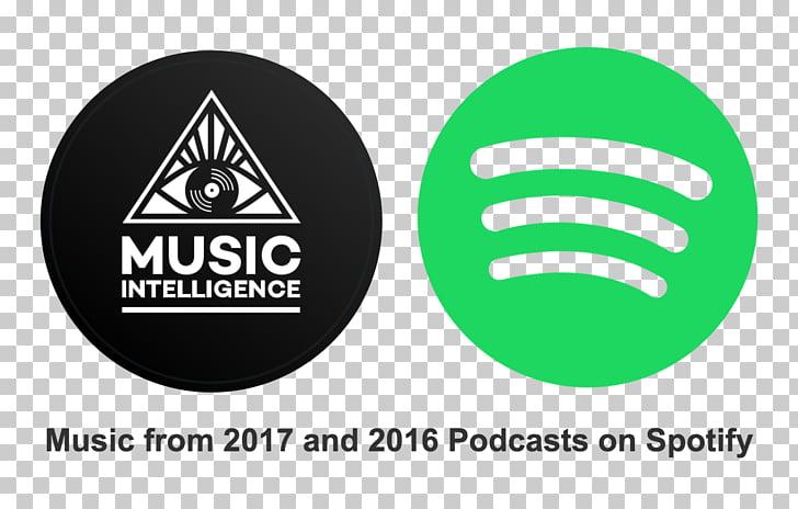 Spotify Music Playlist Podcast Logo, listen on spotify PNG.