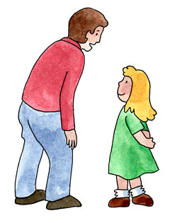 Listen To Adults Clipart.