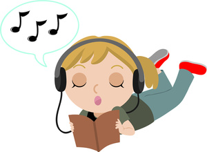 93+ Listen To Music Clipart.