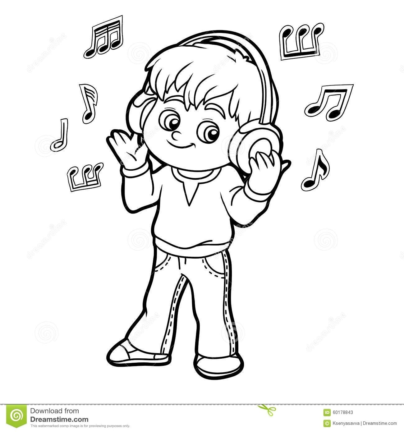 Clipart Black And White Music.
