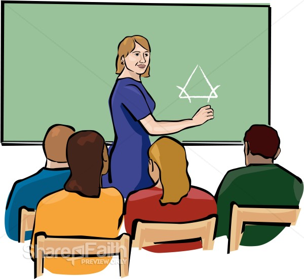 Listen To Teacher Clipart.