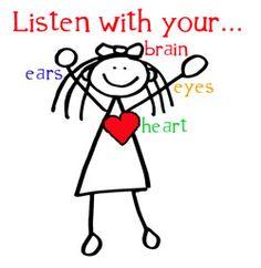 Be A Good Listener Clipart.