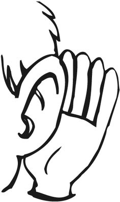 Listeners clipart.