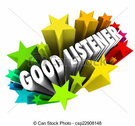 Good listener Clip Art and Stock Illustrations. 237 Good listener.