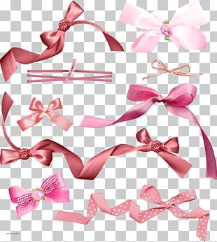 Pajarita pajarita cinta rosa m fuente, liston PNG Clipart.
