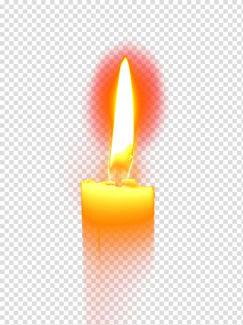 Lit candle illustration, Flameless candles Flameless candles.