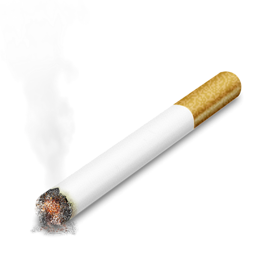 Lit Cigarette Clip Art , royalty #1387.