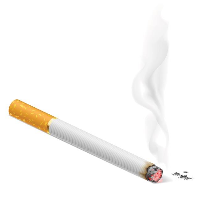 Burning Cigarette Clipart.