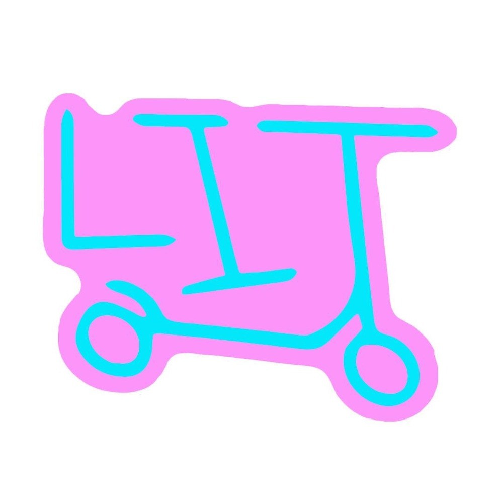 Lit scooter logo\