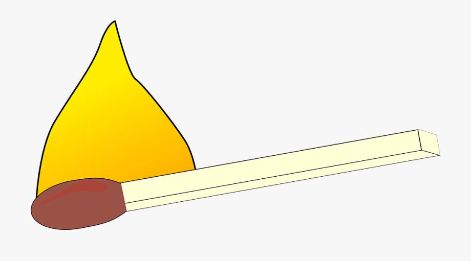 Match Burning Fire Lit Matchstick Smoke Flammable.